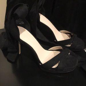 H&M strap up heels